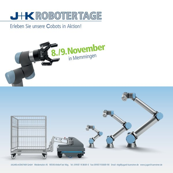 Robotertage am 8. und 9. November in Memmingen