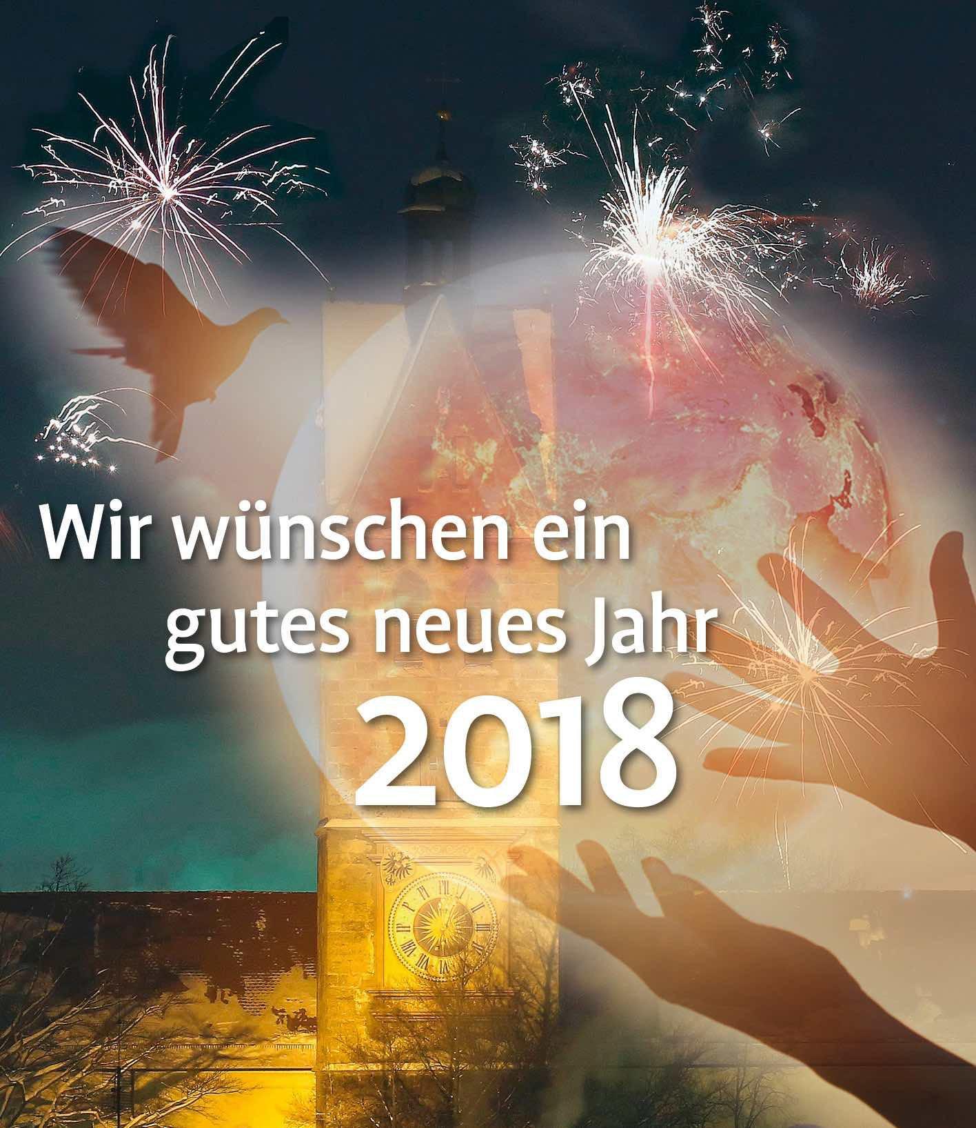 Einen guten Rutsch ins neue Jahr 2018...