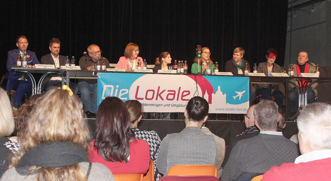 Podiumsdiskussion Lokale