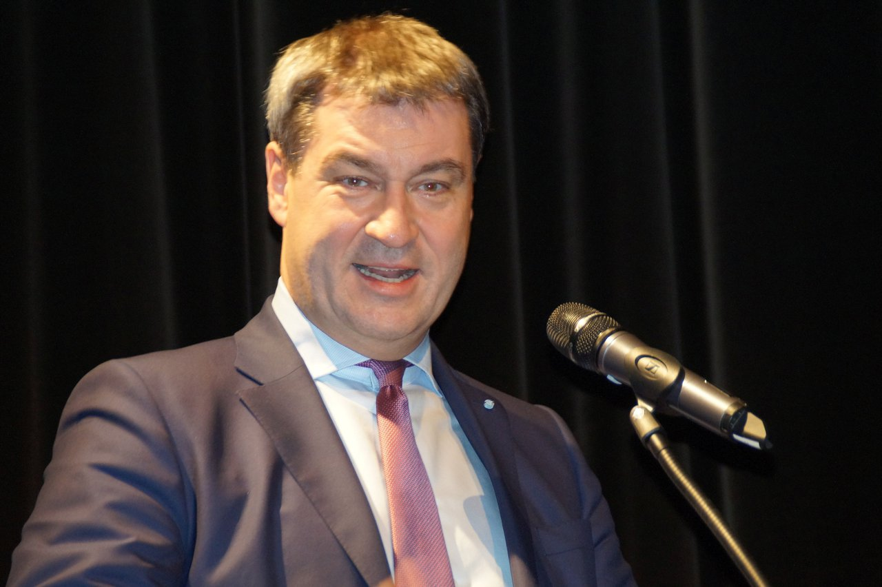 Markus Söder in Memmingen